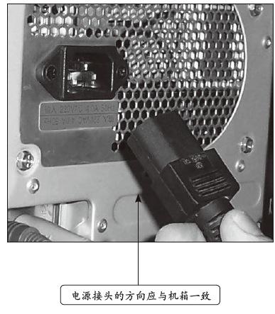 图解台式电脑硬件连接步骤