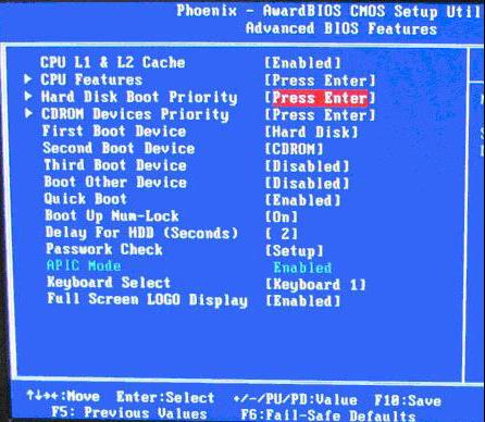 最新xp系统手机版,BIOS设置图解教程