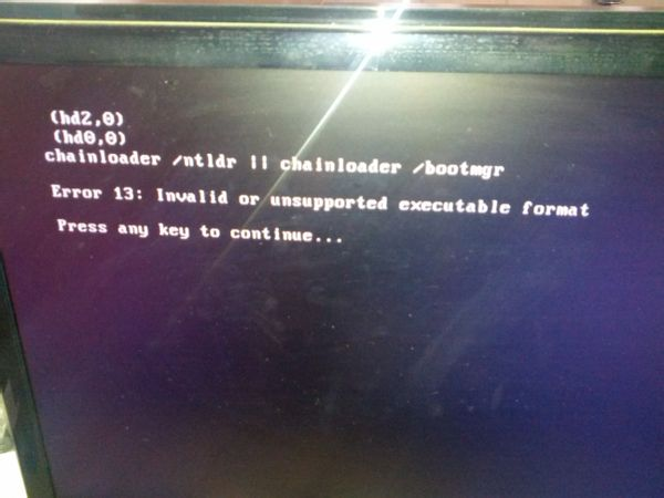 booting from c:\windows ntdetect failed